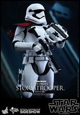 "HOT TOYS 12"" STAR WARS FIRST ORDER STORMTROOPER OFFICER 1/6 SCALE FIGURE"