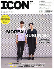 ICON #148 10/2015 Design ARCHITECTURE Guggenheim MOREAU KUSUNOKI Yves Behar NEW