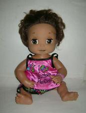 2006 HASBRO Baby Alive Soft Face Interactive Bilingual Spanish Talking Doll RARE