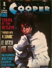 """Alice Cooper Life And Crimes 1999 Poster Famous Monsters 18x24"""""""
