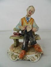 Statua di porcellana Sarto Scuola italiana Capodimonte OMA19