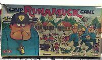 Camp Runamuck Board Game Ideal NBC TV David Swift Complete 1965 Rare Vintage