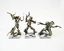 Warhammer Fantasy  Army Wood Elf  Scratch Built Tree kin x3  Painted And  Based