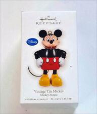 Hallmark Keepsakes- Vintage Tin Mickey