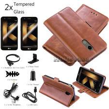 For Lg K30 /K20 V/K10 2017 / K10 2018 Leather Wallet Credit Card Flip Case Cover