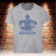 T-shirts Royal Enfield Retro Motorcycles Vintage Biker T-shirts Men's Size S-3XL
