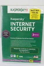 Kaspersky Internet Security from Best Buy PCs Mac Mobil Android iOS New & SEALED