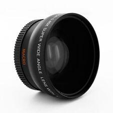 .45X Wide Angle Lens +Macro fo Minolta 5D 7D Sony Alpha A57 A58 A55 A33 A77 A580
