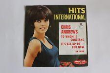 Single, Chris Andrews – To Whom It Concerns / Girl-Cover Vogue  1966 rare