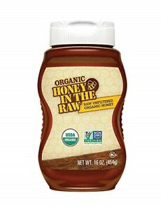 Organic Honey in the Raw Raw Unfiltered Organic Honey