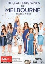 THE REAL HOUSEWIVES OF MELBOURNE (COMPLETE SEASON 3 - DVD SET SEALED +FREE POST)