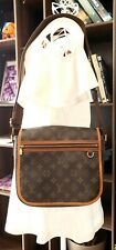Authentic Louis Vuitton Bosphore PM Monogram Canvas Messenger Bag