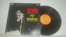 ELVIS PRESLEY - ELVIS BACK IN MEMPHIS - VINTAGE 1970 RCA VICTOR STEREO LP LSP-44