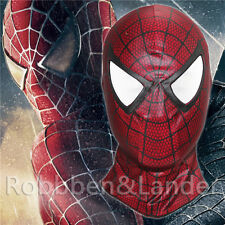 The Amazing Spider Man Red Mask Carnage Cosplay Hood Spider-Man 3 Full Face Mask