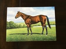 PERSONAL ENSIGN   photo from oil painting  Horse Racing UNDEFEATED CHAMPION