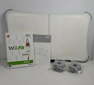 Nintendo Wii Fit Game w/Balance Board and Foot Extensions
