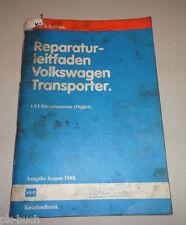 Werkstatthandbuch VW Bus / Transporter T3 1,9 l Einspritzmotor Digijet 01/1988