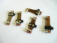 5PCS Stereo Slide Potentiometer Dual pc board mount 40mm x 5mmx 10mm 20mm travel