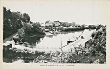 A Quiet Day At Hall's Harbour NS Canada RPPC