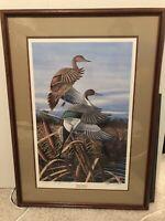 "James Partee Jr. Signed 1988 ""Rising Pintails"" 708/1200 Duck Unlimited Sponsor"