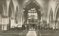BLETCHLEY St. Mary's Church Postcard Milton Keynes BUCKINGHAMSHIRE Bolton, E.W.