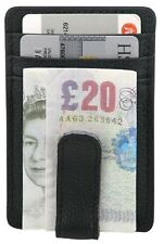 Leather Money Clip Luxury  Money Clip Holds Cards And Notes Nice Holiday Gift.