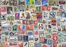 200 All Different NORWAY  Stamps (lot p)
