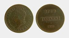 144) Napoli regno Ferdinando I (1816-1825) 8 Tornesi 1817