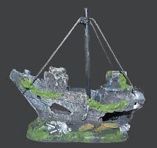 1 x NUOVO DECORAZIONE PER ACQUARIO NAVE TANE dekoschiff SHIP A