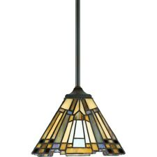 Quoizel 1 Light Inglenook Mini Pendant in Valiant Bronze - TFIK1508VA