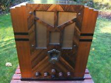 Zenith Art Deco Tombstone Radio