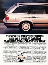 1992 BMW 525i Touring Wagon 2-page Original Advertisement Print Art Car Ad J754