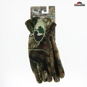 Mossy Oak Camo Hunting Gloves Large ~ New