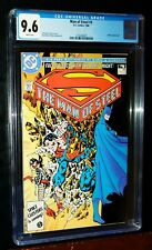 THE MAN OF STEEL #3 of 6 Superman 1986 DC Comics CGC 9.6 NM+ White Pages