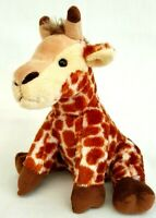 Teddy Friends Brown Giraffe Soft Plush Stuffed Animal Doll Toy 23CM Tall