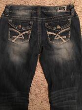 """Amethyst Women's Jeans Style Dylan Size 7 Inseam 32"""""""