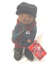 Russ Teddy Farnsworth mit Ständer Teddybär Bär Baer 19 cm aus Sammlung