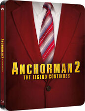 Anchorman 2: The Legend Continues Bluray Limited Edition Steelbook NEW SEALED
