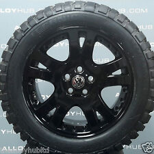 "VOLKSWAGEN AMAROK BLACK 19""INCH ALLOY WHEELS AND MUD TERRAIN TYRES X4, HIGHLINE"