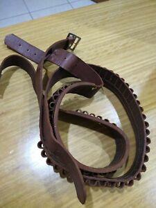 Bennett Leather Ammunition Belt Vintage