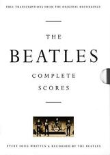 The Beatles Complete Scores Book, Transcriptions From the Original Recordings