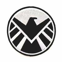 Shield Iron On Patch Sew On Embroidered Patch T shirt Jacket Patch