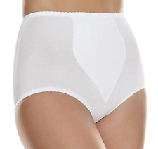 Hanes Tummy Toned White 2-Pack Shaping Brief w/ Control Panel 2X or 6X H091