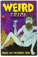 Weird Trips 1 Kitchen Sink 1978 VG Drugs Occult UFO