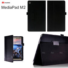 BLACK Flip Case Cover for Huawei MediaPad M2 8.0""