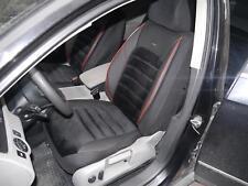 Schonbezüge Sitzbezüge Komplett für Audi A6 NO414131 schwarz-rot