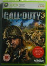"""Call Of Duty 3"" Microsoft XBOX360 Live Video Game"