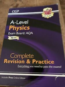 AQA CGP A Level Physics Revision Guide Complete Revision And Practice