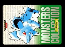POKEMON BANDAI 1996 GREEN MONSTERS COLLECTION N°   30 NIDORINA