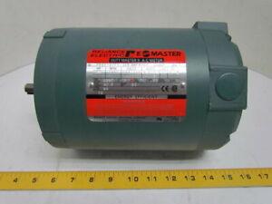 Reliance Duty E A-C Electric Motor 3/4 HP 1725 RPM 230/460V 56C Frame 3PH TE NEW